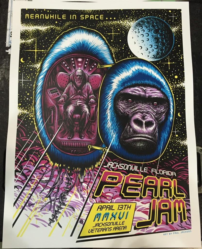 Paul-Jackson-Pearl-Jam-Jacksonville-Poster-2016-Front