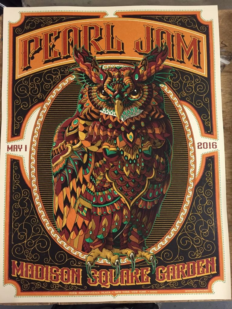 Pearl-Jam-Bioworkz-New-York-Poster-2016-Front